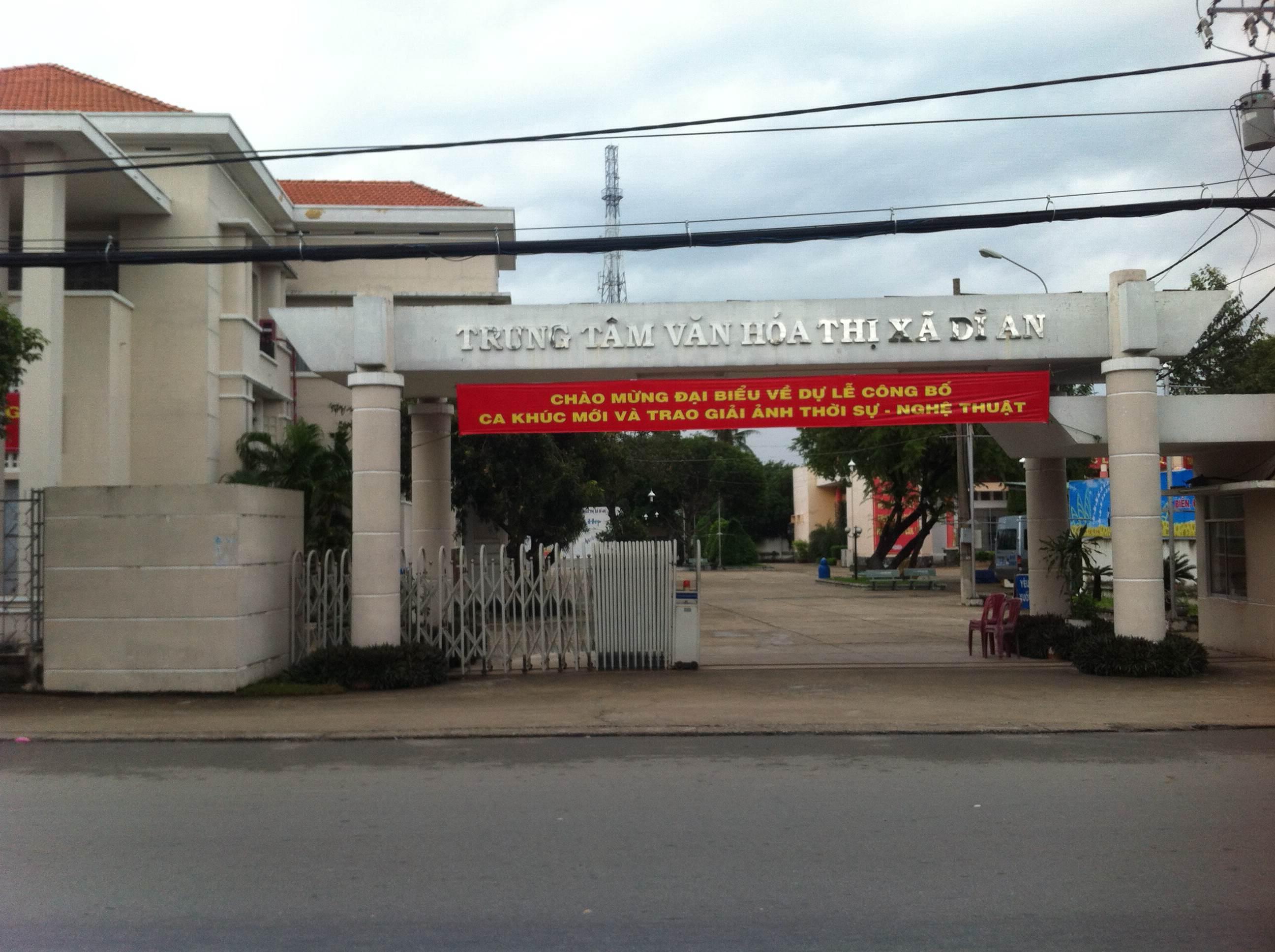 Nhà bán gần trung tâm y tế dĩ an, nhà gần trung tâm văn hòa thị xã dĩ an.