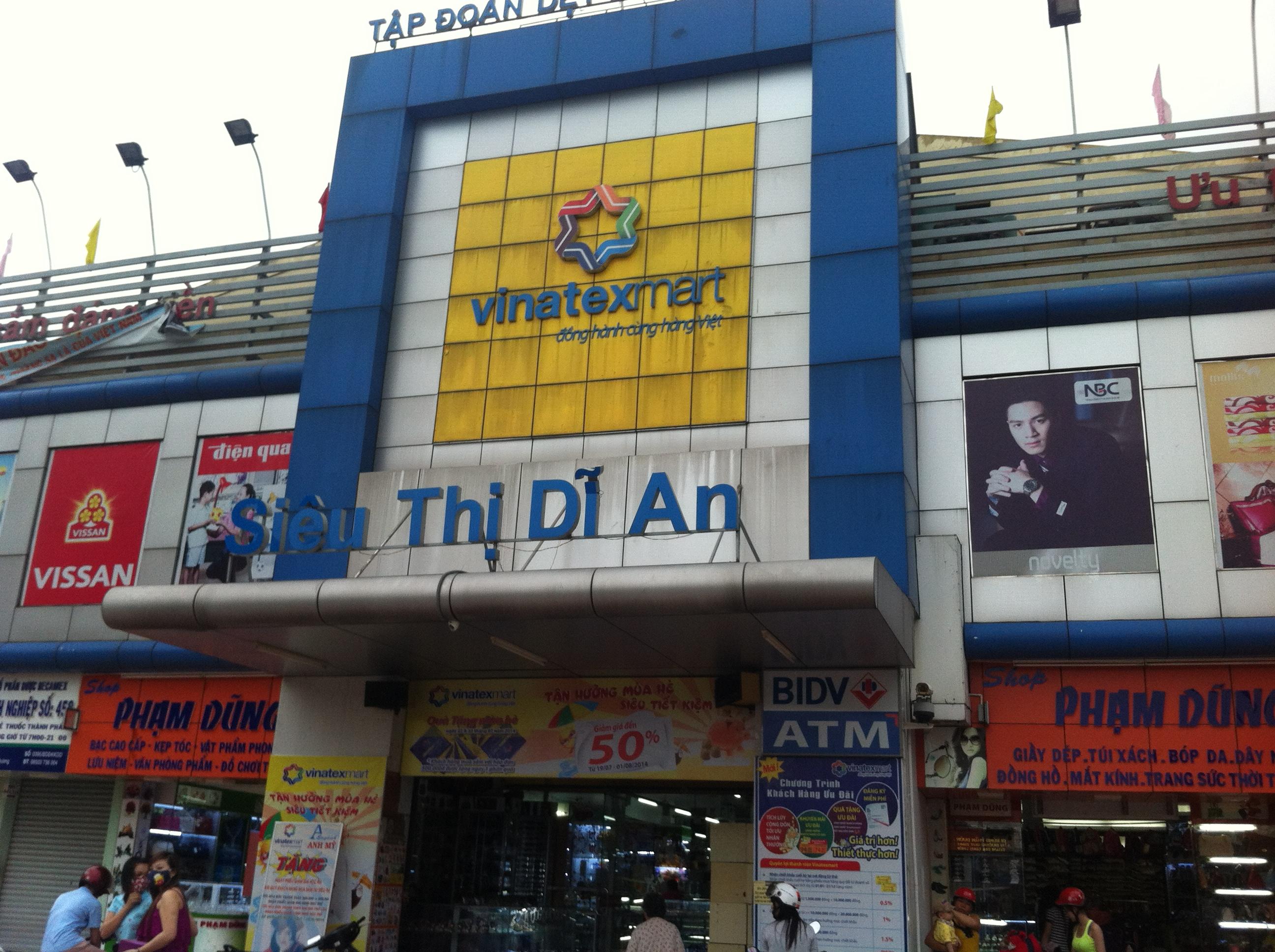 NHÀ MẶT TIỀN BUÔN BÁN ĐƯỜNG THÔNG CẦN BÁN, nhà gần siêu thị dĩ an