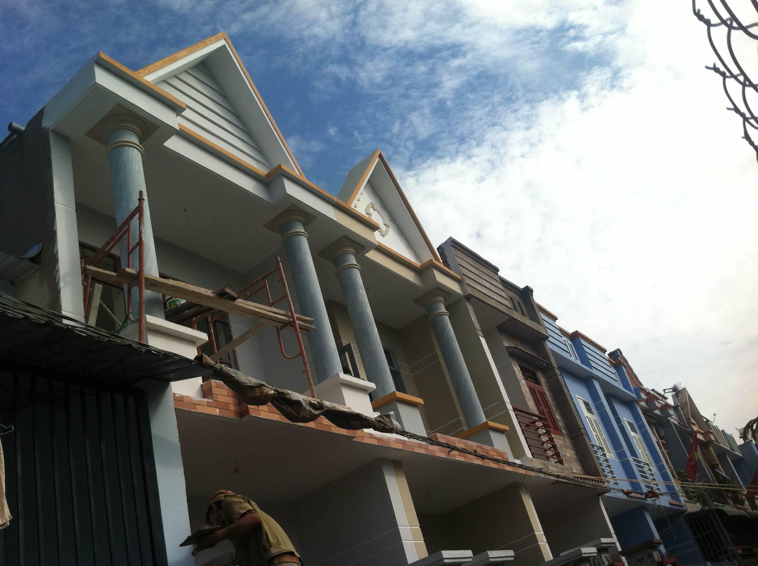 Phía trước căn nhà giá 450tr tại dĩ an bình dương