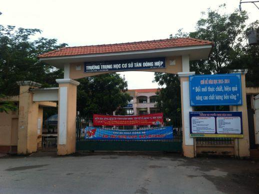Đất gần trường THCS Tân Đông Hiêp