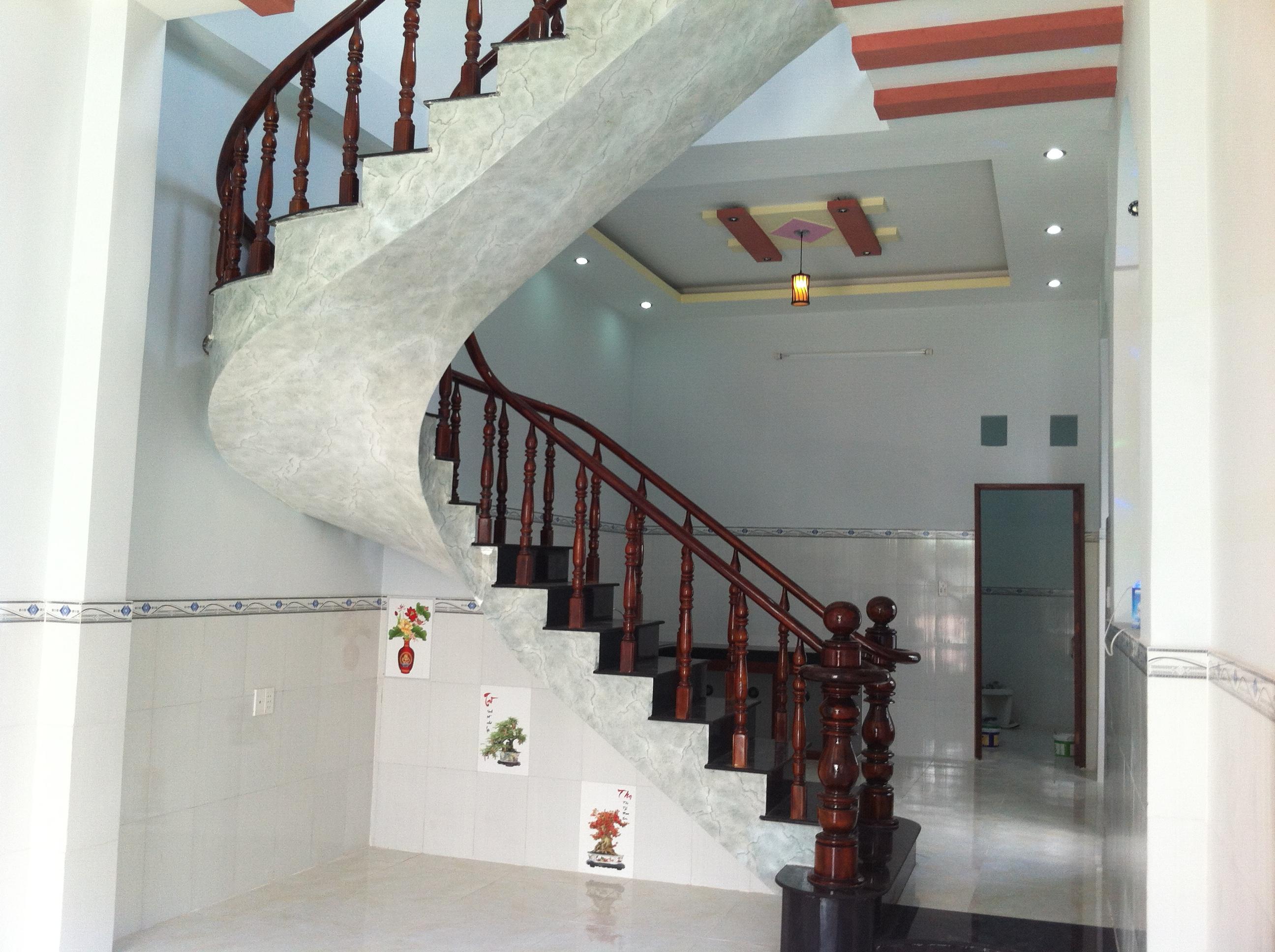 Cầu thang nhà thiết kế đẹp, hiện đại ở dĩ an bình dương