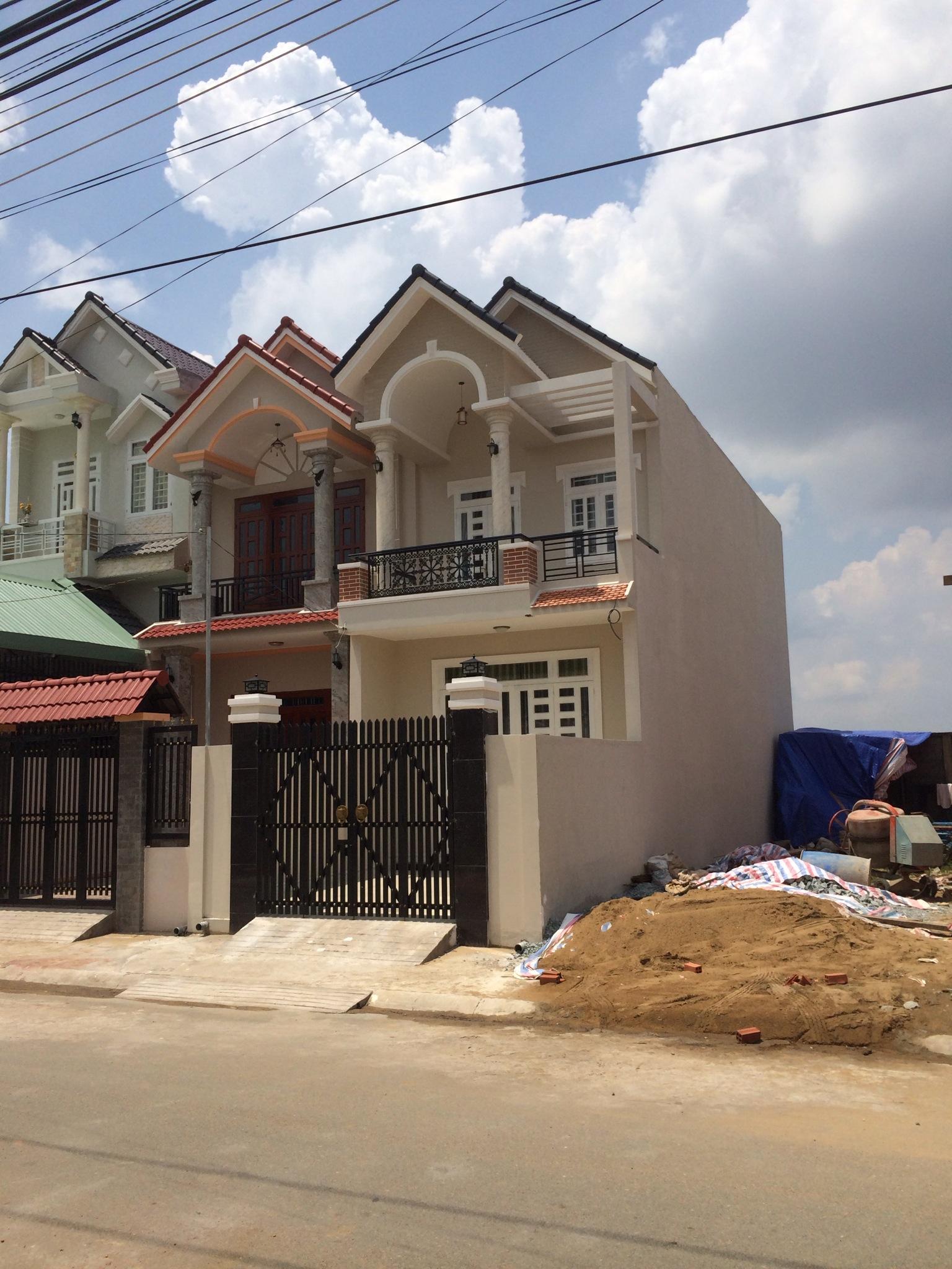 Toàn bộ căn nhà cuối cùng trong dự á ở dĩ an
