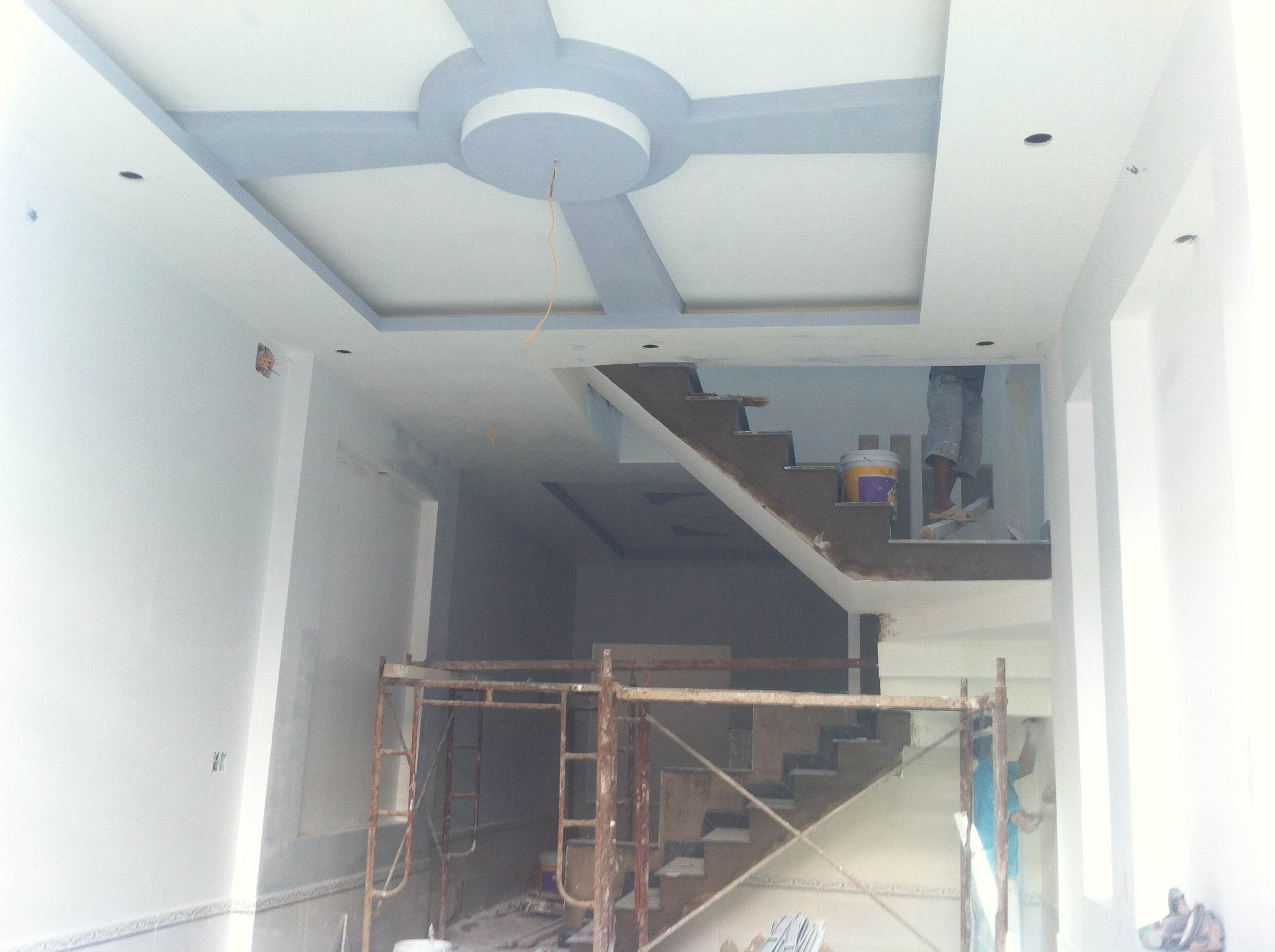 không gian trong nhà mới gần đường DT 743 TX dĩ an