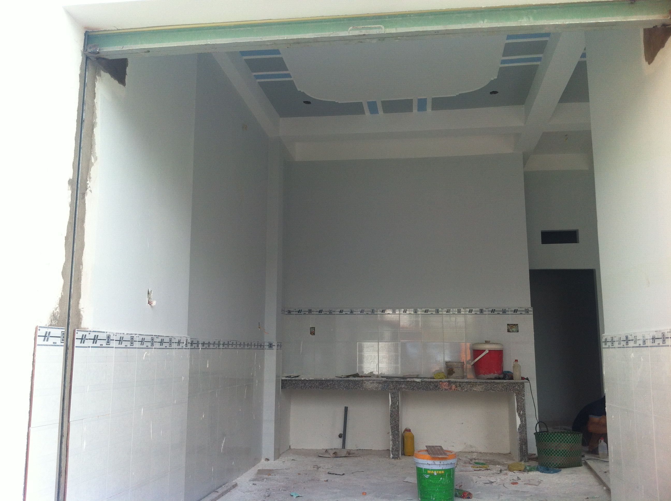 bếp nấu nhà có diện tích 150m2, sổ riêng