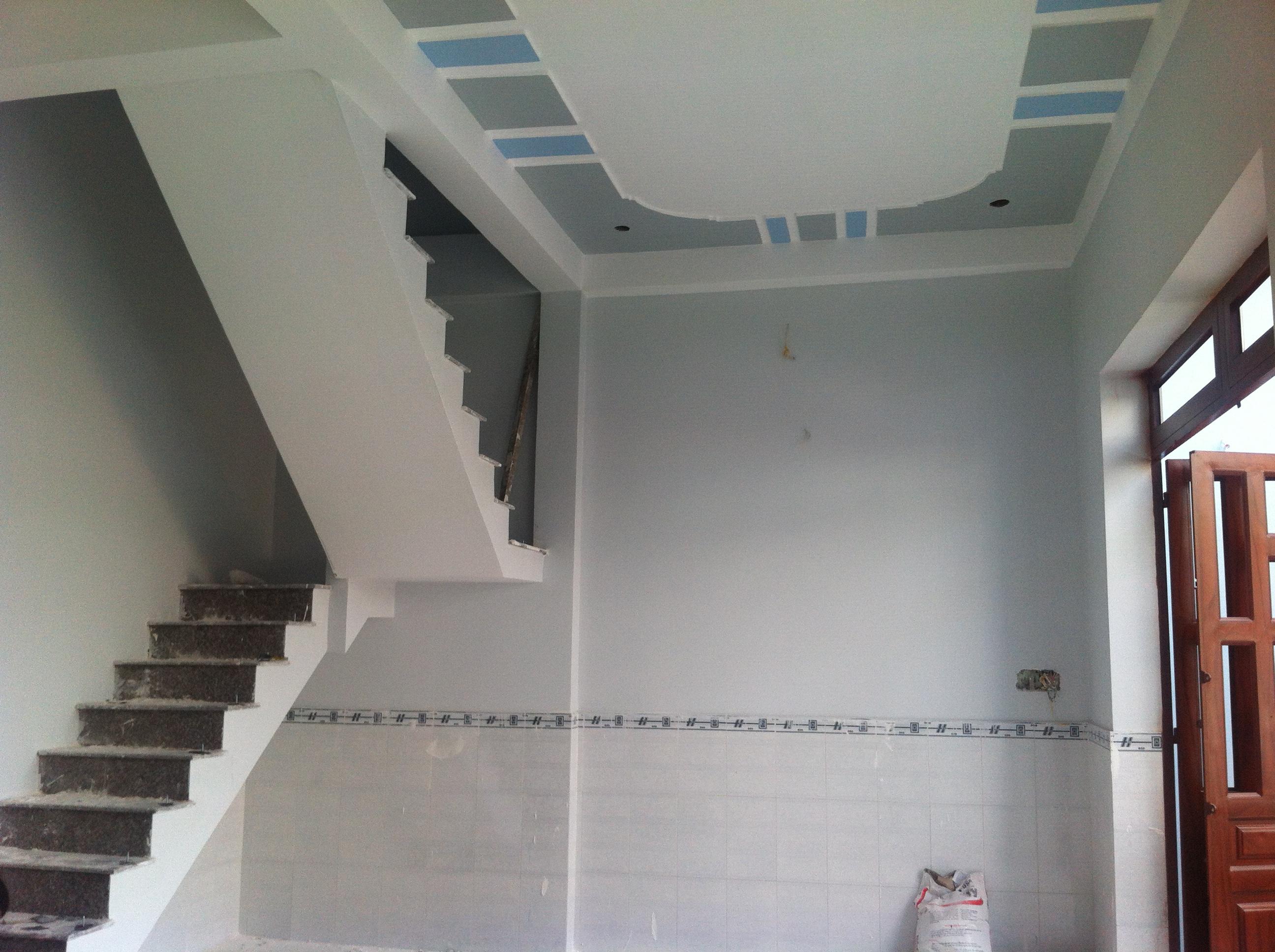 không gian trong nhà có diện tích 150m2, sổ riêng