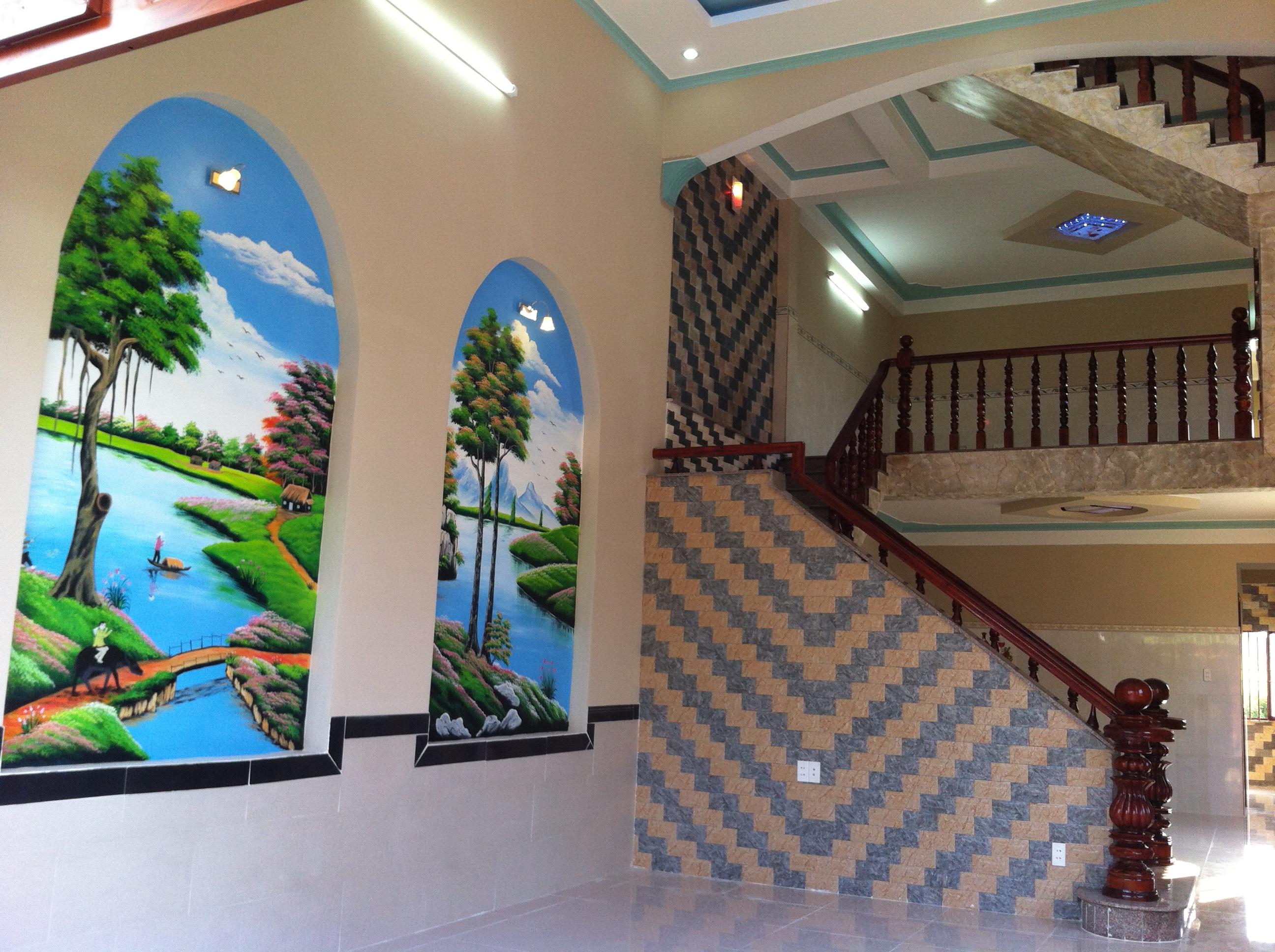 trang trí bên trong căn nhà 2 mặt tiền kinh doanh buôn bán tốt ở thị xã dĩ an