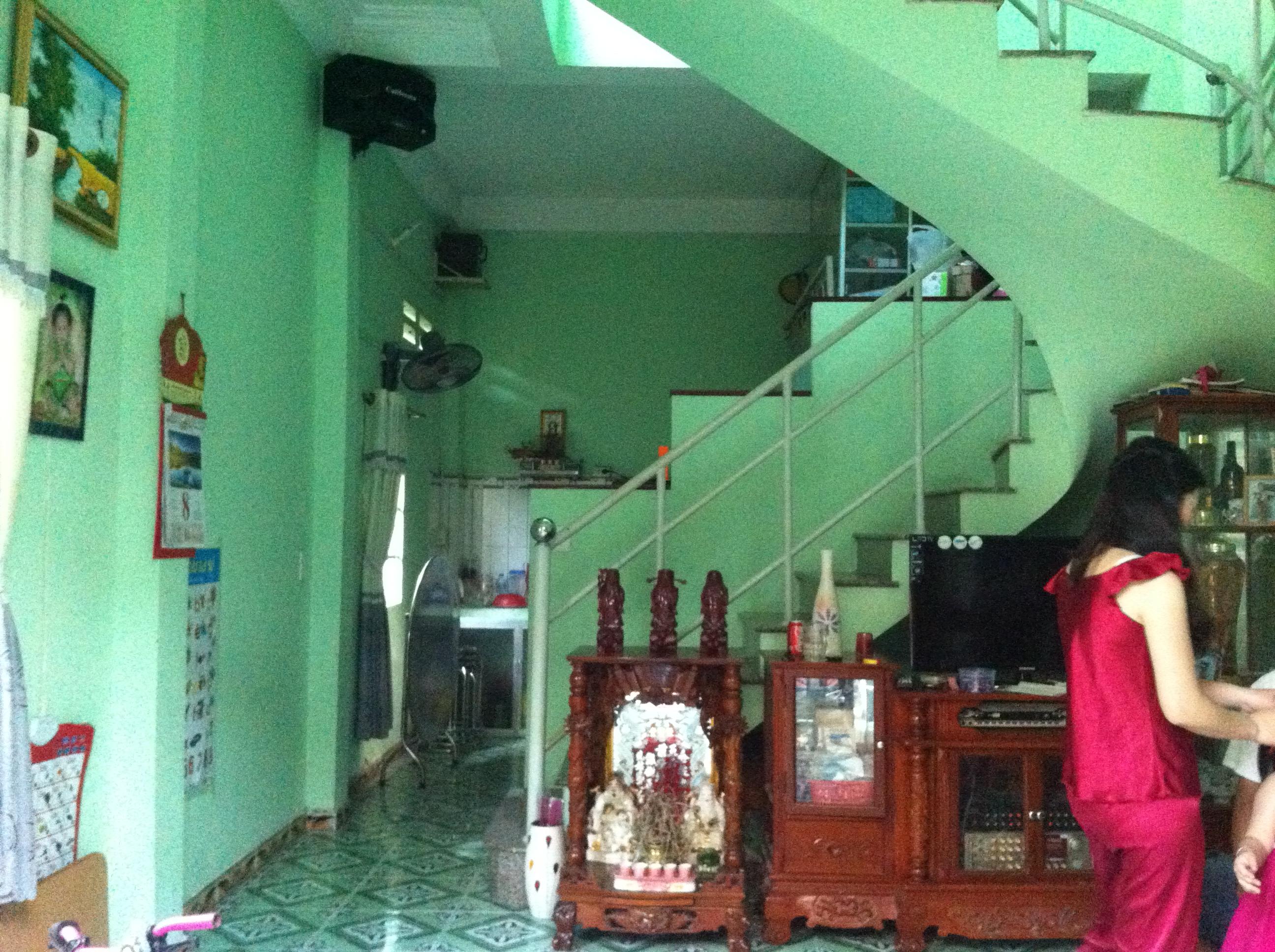 Bên trong căn nhà khu dân cư trung tâm hành chính dĩ an, nhà có 2 phòng trọ