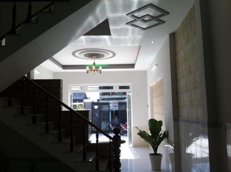 trang trí trần nhà dĩ an hướng Đông-Bắc, phong thủy tốt