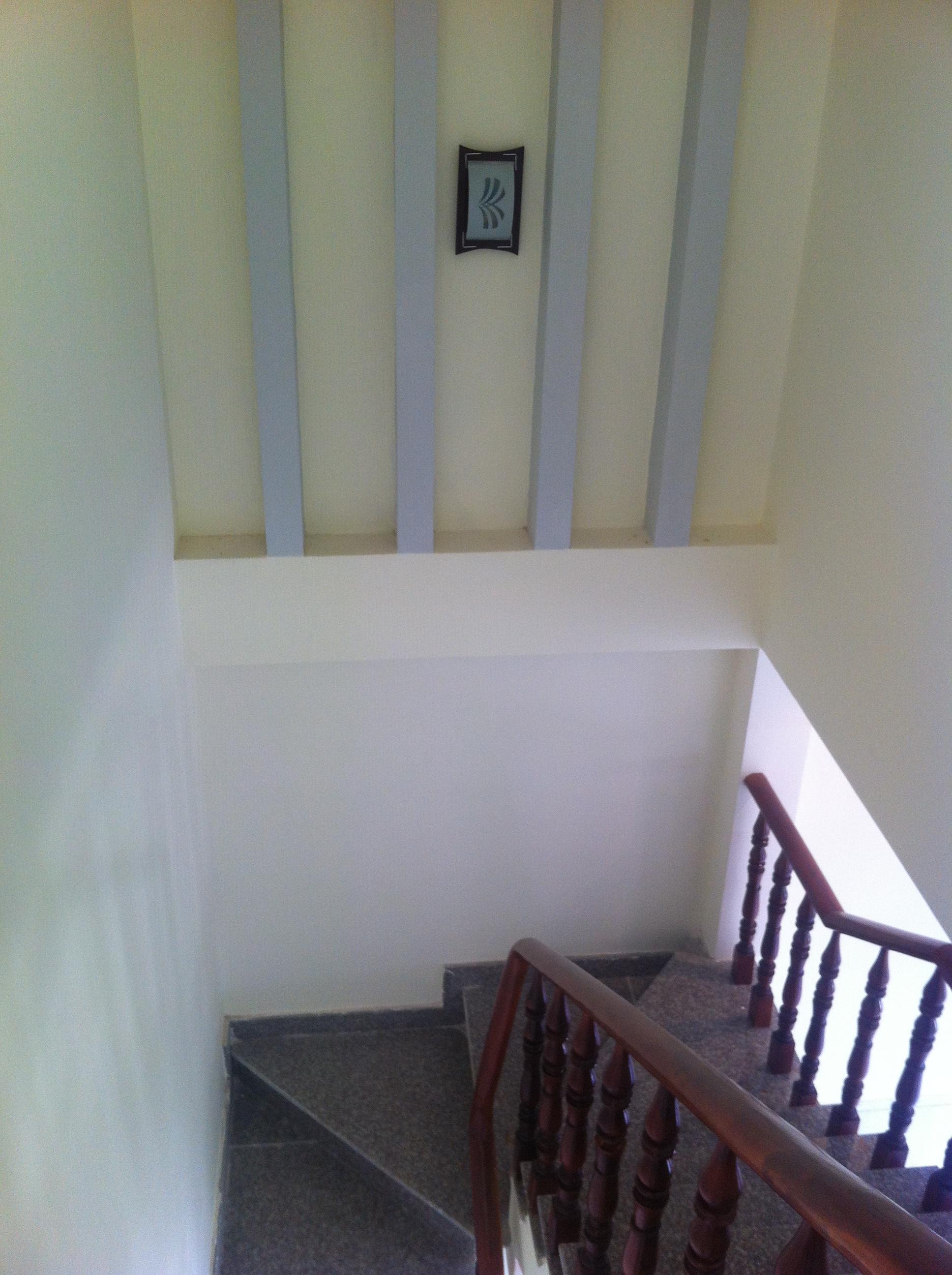 cầu thang nhà thiết kế kiến trúc thái đẹp ở dĩ an