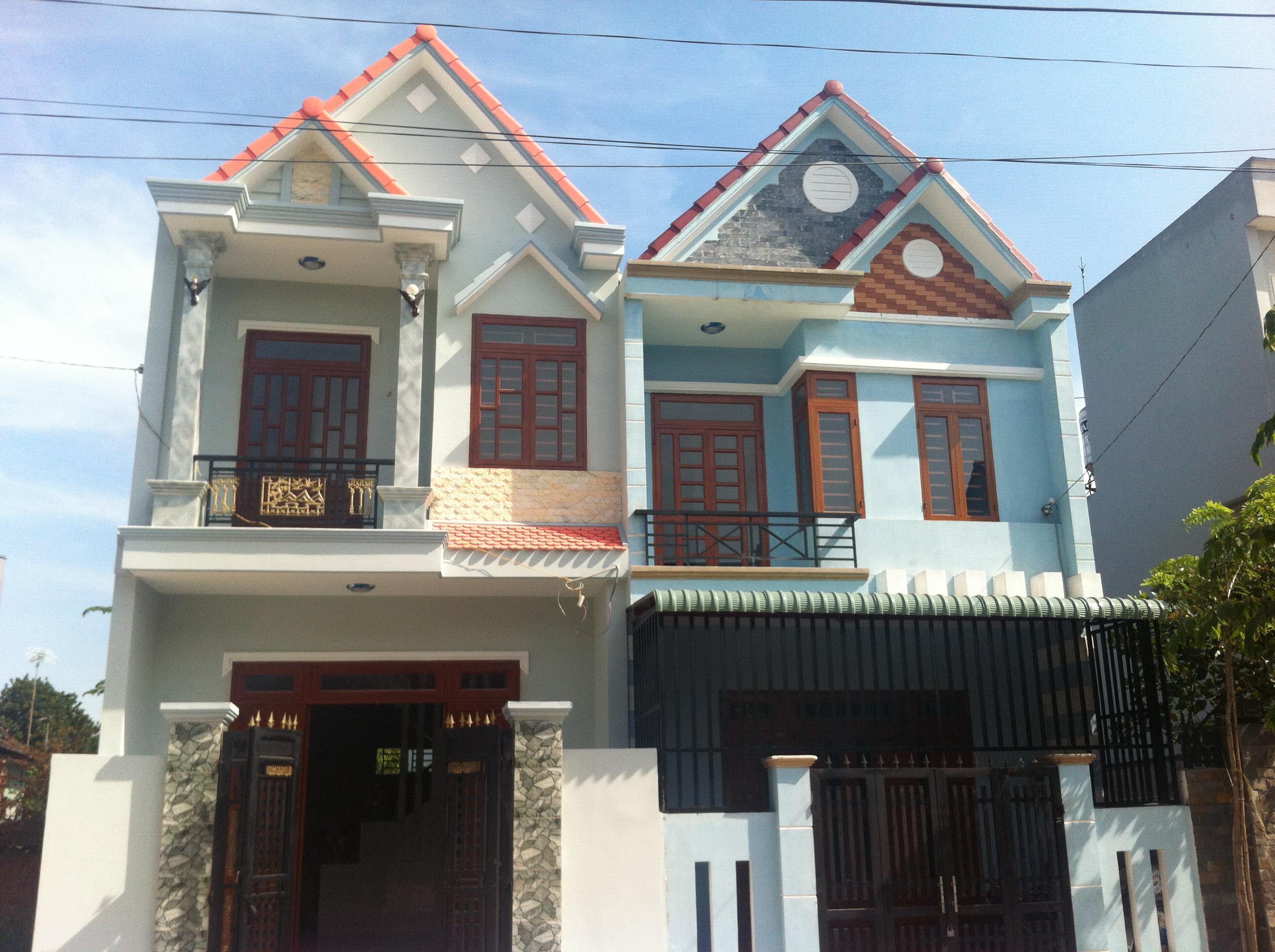 Mẫu thiết kế nhà phố đẹp cần bán