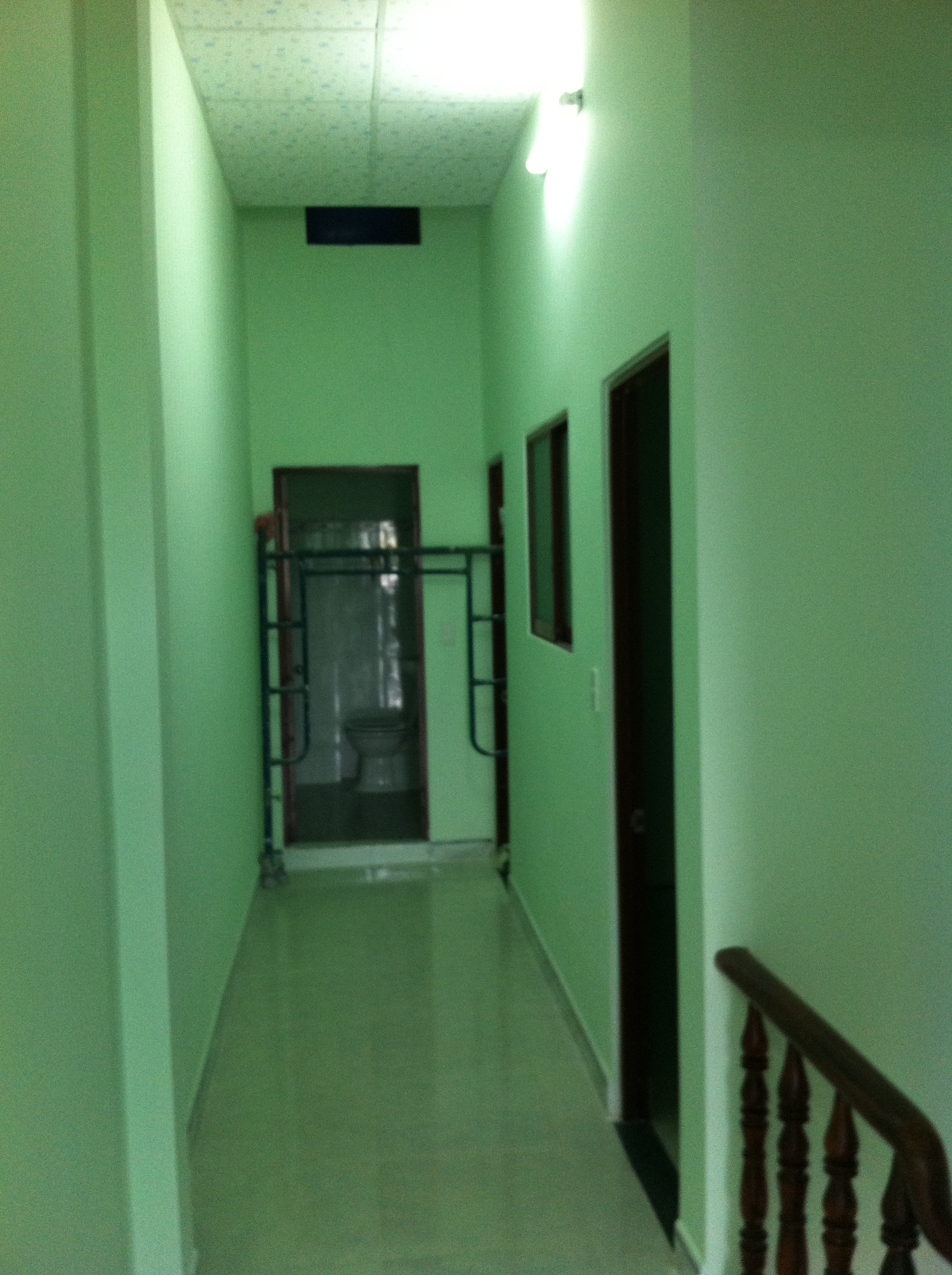 không gian lầu 1 nhà phố kiến mới nhất ở thị xã dĩ an, tỉnh bình dương
