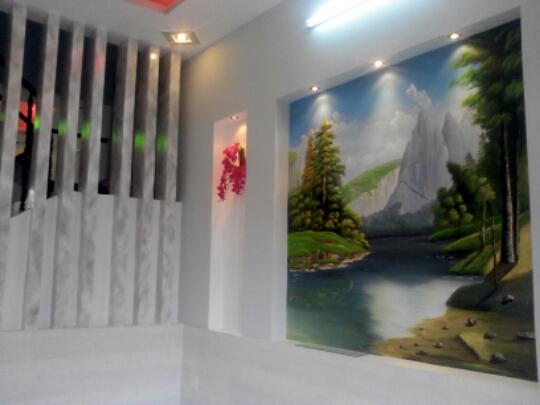 tường trong nhà đẹp Dĩ An thiết kế hiện đại