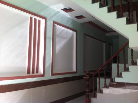 khung tường nhà mới dĩ an bình dương dt 80m2