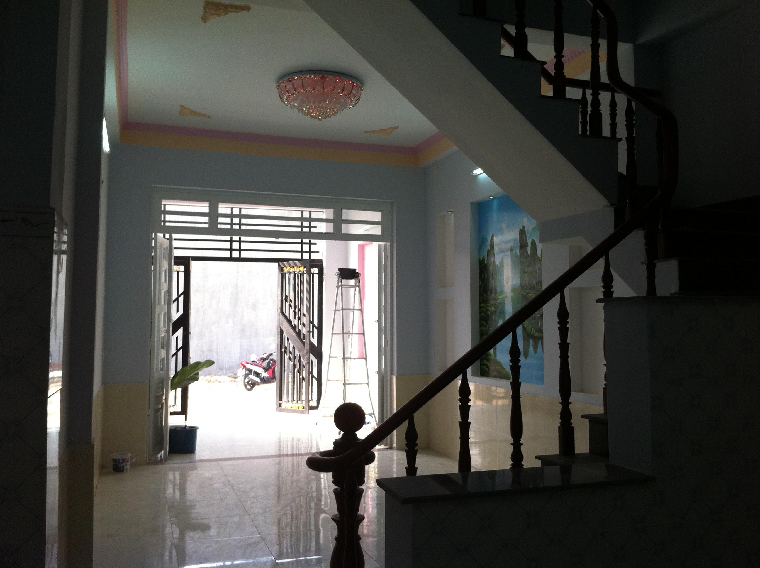Phòng khách Nhà cần bán nằm ngay cổng sau KCN Visip , KCN Vietnam singapore. KCN sóng thần 1,2 thị xã dĩ an