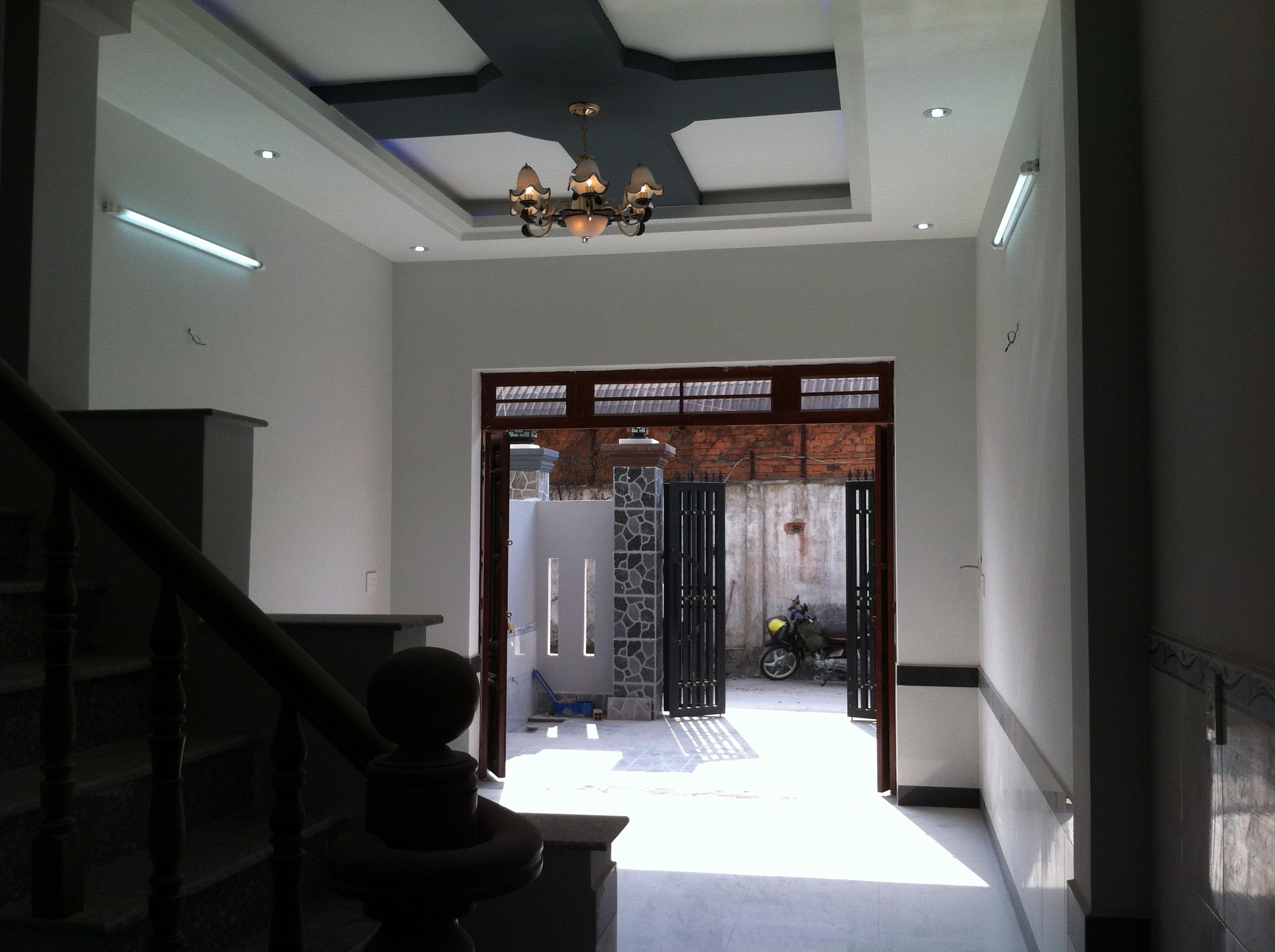 Phòng khách căn nhà phố mới gần khu công nghiệp visip, Việtnam SINGAPORE