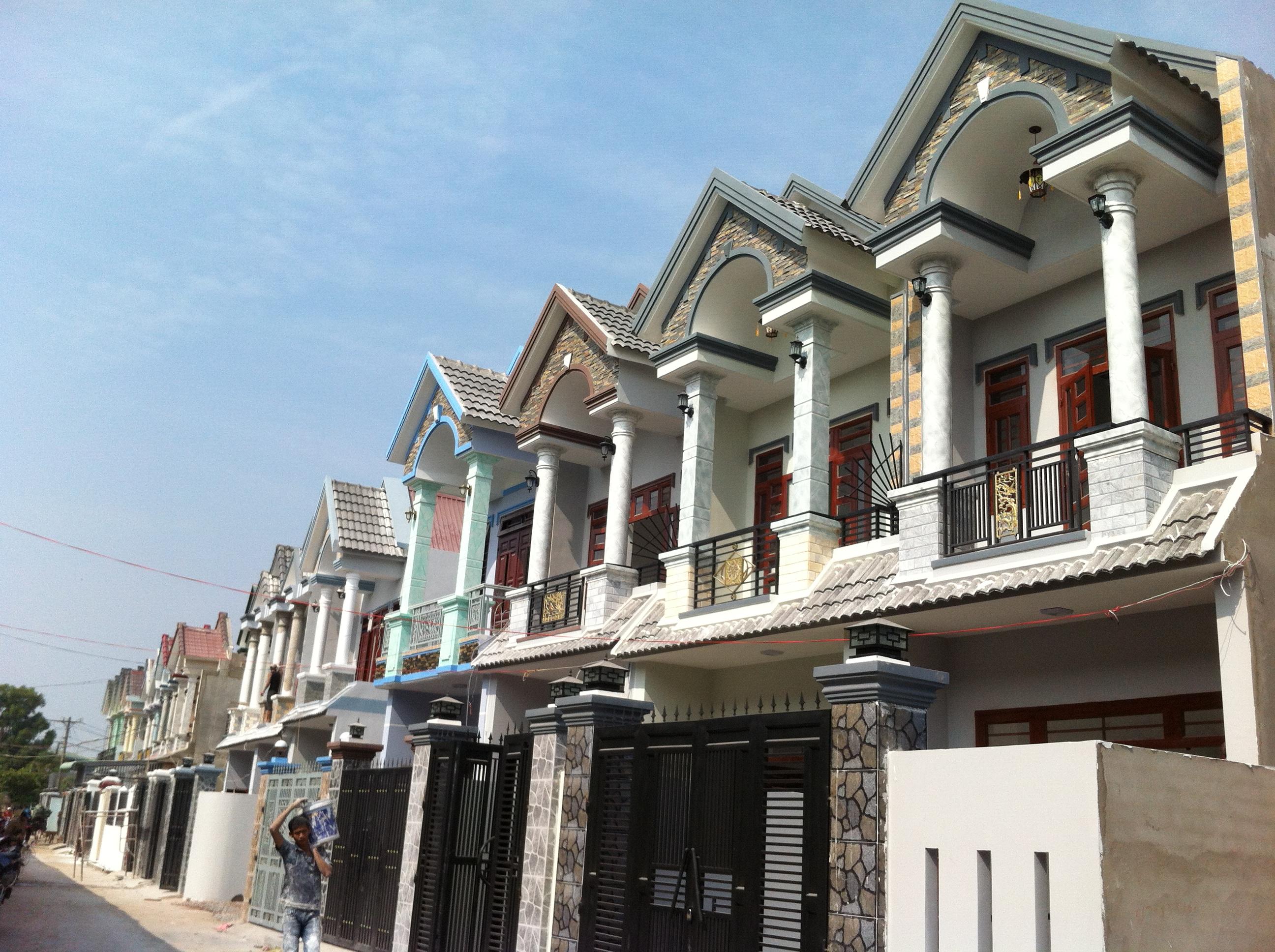 nhà phố mới gần khu công nghiệp visip, Việtnam SINGAPORE