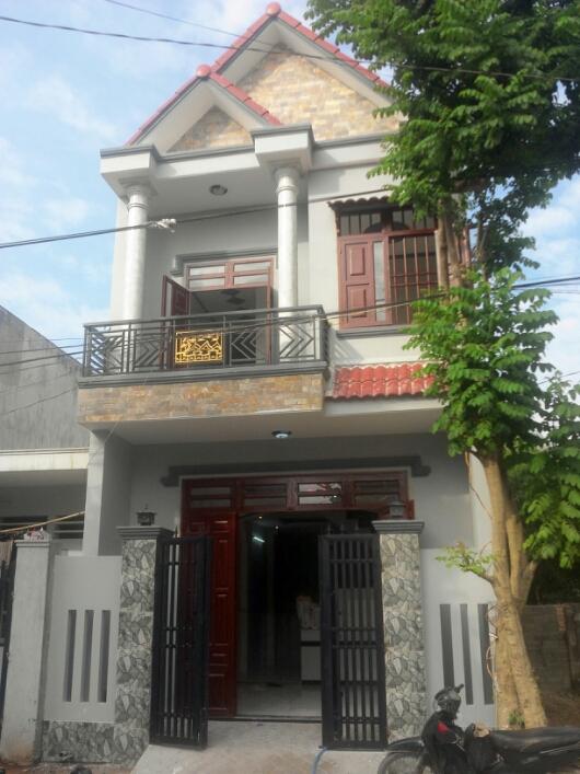 Phía trước nhà 65m2 phường Đông Hòa