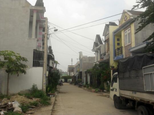 đường trước nhà mặt phố đẹp nhất Dĩ An