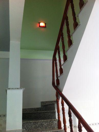 Cầu thang xây kiên cố
