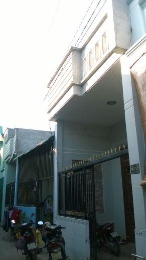 Mặt tiền của căn nhà mặt phố cần bán tại dĩ an