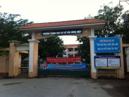 Đất mới gần trường trung học Tân Đông Hiệp dĩ an.