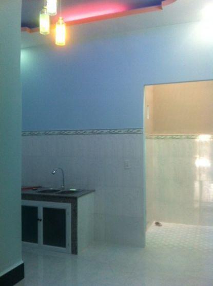 không gian nhà bếp nhỏ