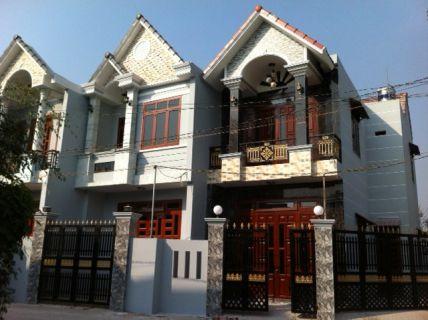 Tổng quát căn nhà phố mặt tiền đẹp.