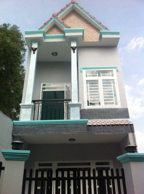 Phía trước căn nhà dĩ an chính chủ.