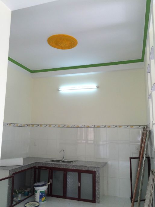không gian nhà bếp nhỏ ở dĩ an bình dương