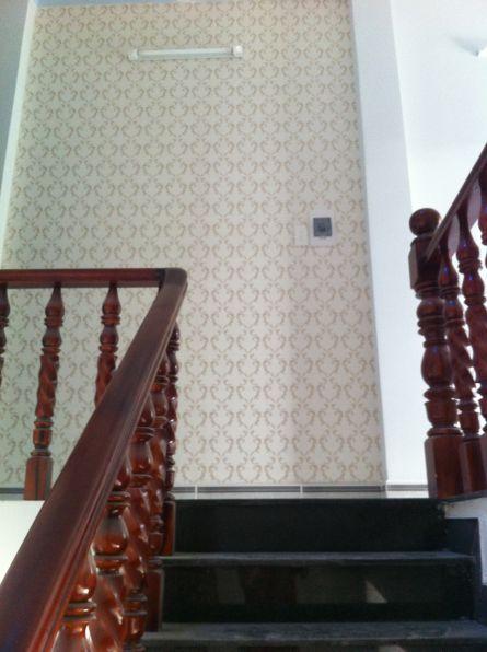 cầu thang đẹp nhà phố ở dĩ an bình dương