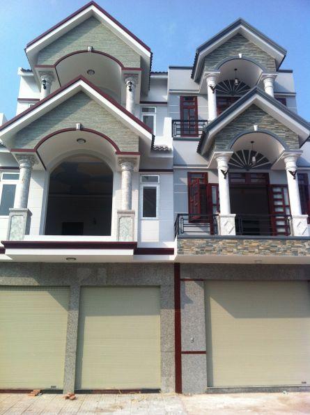 mặt tiền nhà phố 2 tầng đẹp