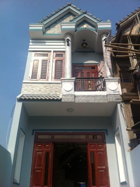 mặt tiền nhà phố đẹp ở dĩ an bình dương