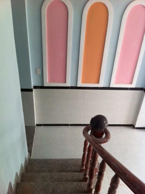Cầu thang trang trí đẹp.