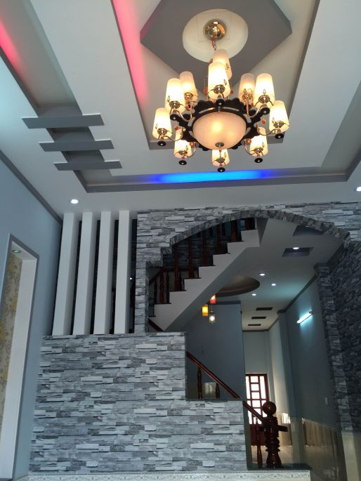 thiết kế trần nhà thạch cao đẹp