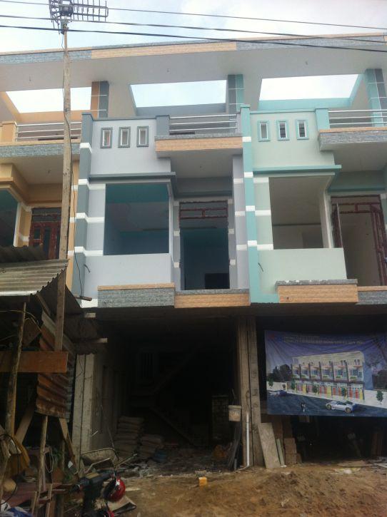 Mẫu nhà đẹp đang xây dựng