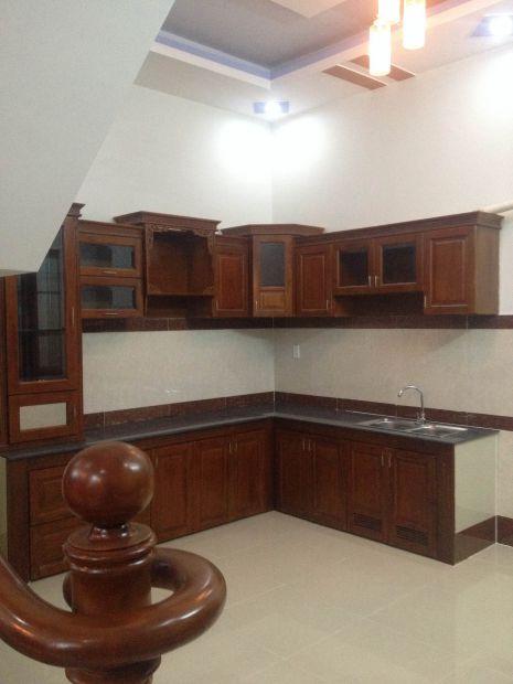không gian bếp đẹp cho nhà ống ở dĩ an bình dương