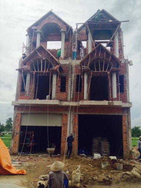 Căn nhà trước khi xây dựng.