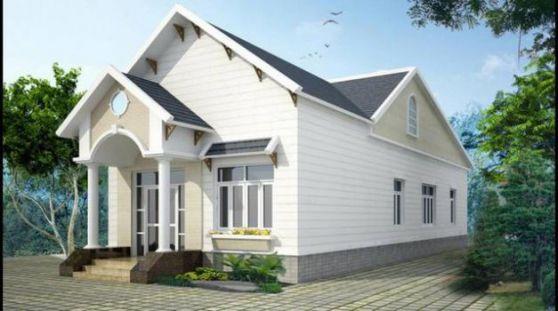Mẫu nhà mái thái ở nông thông kiểu dáng mới nhất trong năm-->Thiết kế 1