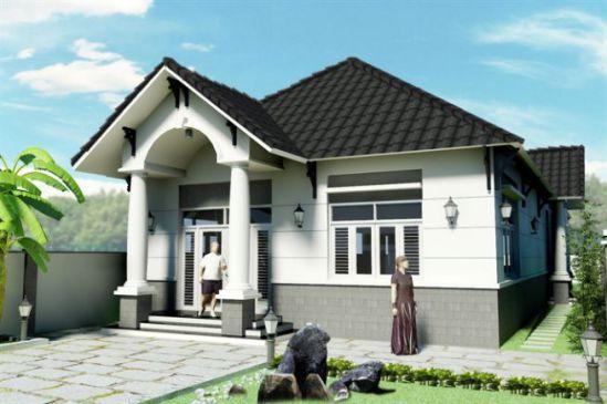 Mẫu nhà mái thái ở nông thông kiểu dáng mới nhất trong năm-->Thiết kế 2