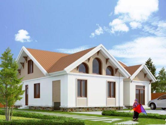 Mẫu nhà mái thái ở nông thông kiểu dáng mới nhất trong năm-->Thiết kế 6