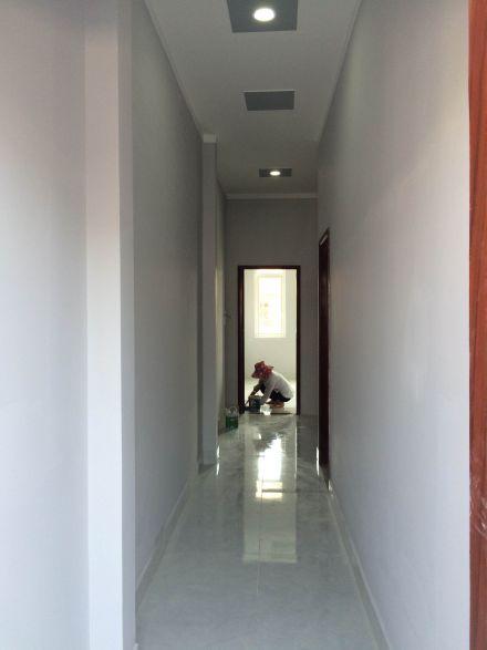 Hành lang tầng lầu.