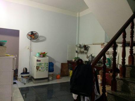 Không gian sau nhà bếp.