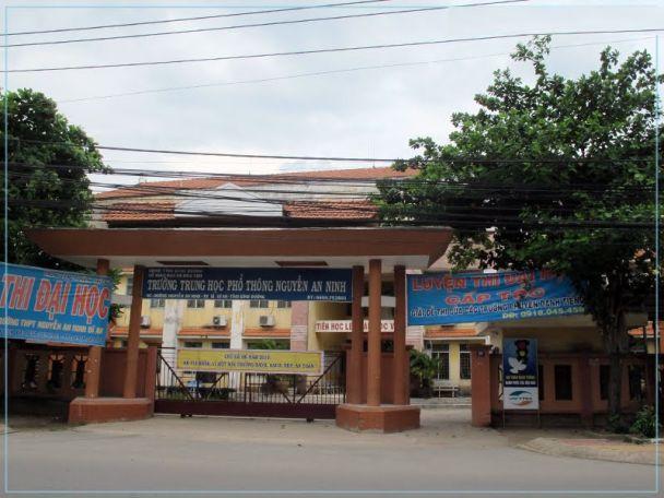 THPT Nguyễn An Ninh dĩ an