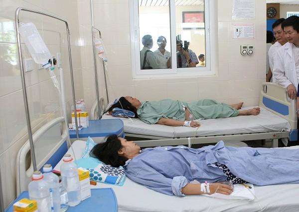 Bệnh nhân được chăm sóc chu đáo, phòng bệnh rất sạch sẽ.