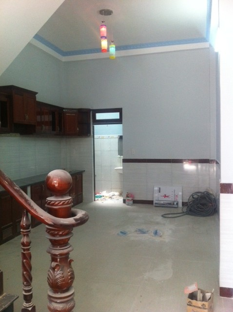 Toàn bộ khu bếp.