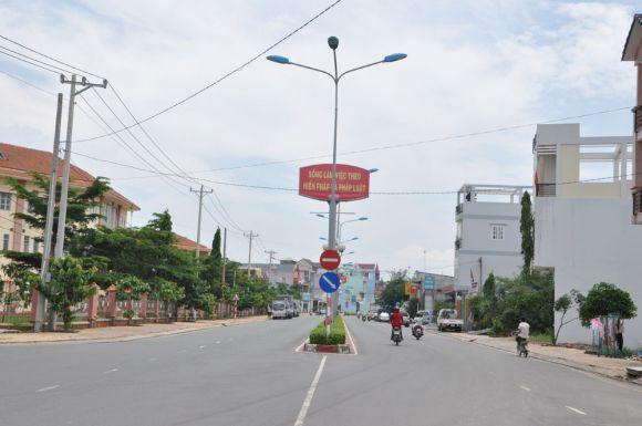 Góc khu dân cư đô thị Trung Tâm Hành Chính Dĩ An.