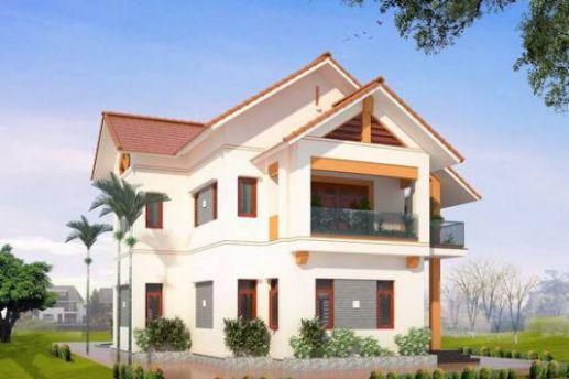 mẫu nhà mái thái 2 tầng đẹp nhất hiện nay--thiết kế 4