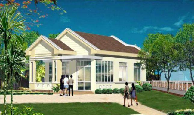 mẫu nhà cấp 4 khoảng 300 triệu, nhà đơn giản để xây dựng
