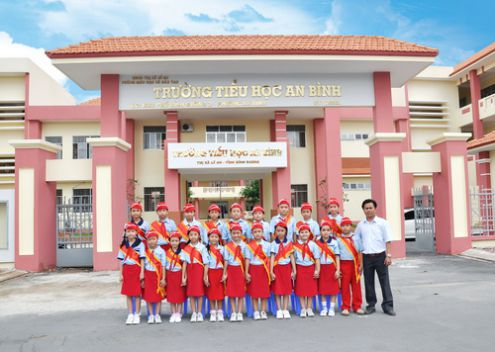 Trường tiểu học an bình.
