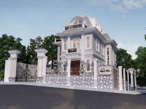 Mẫu biệt thự châu âu, kiến trúc đẹp lung linh.